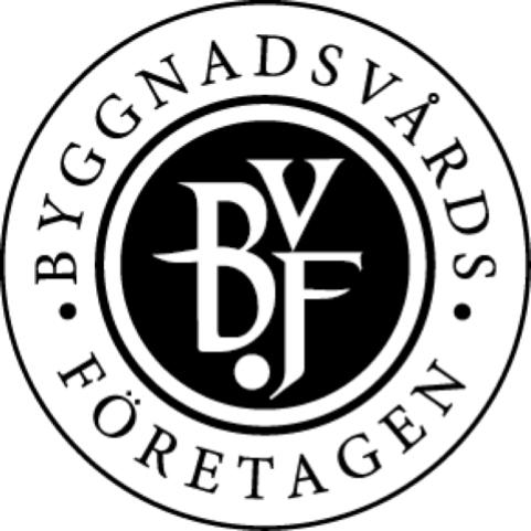 Logotype Byggnadsvårdföretagen